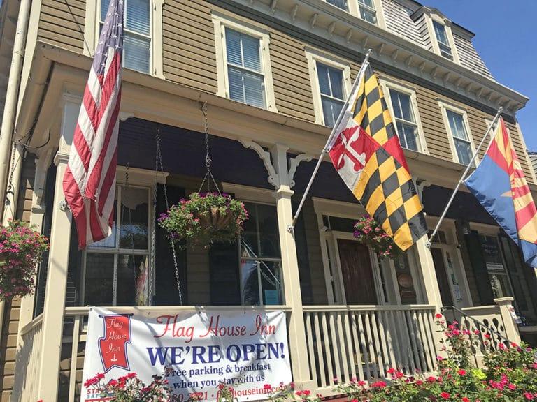 Flag House Inn in Annapolis, Maryland