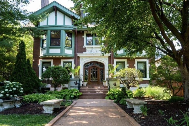 Fleur-De-Lys Mansion in St Louis, Missouri