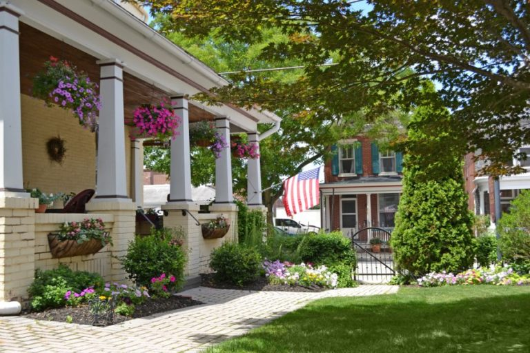 The Gaslight Inn B&B in Gettysburg, Pennsylvania