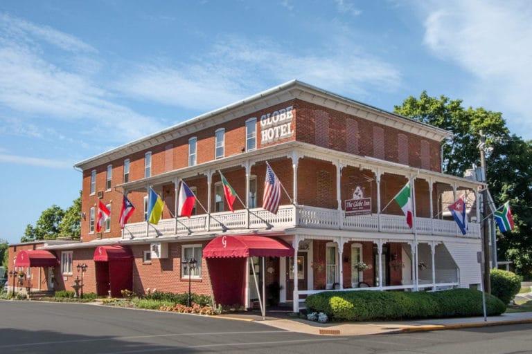 The Globe Inn in East Greenville, Pennsylvania